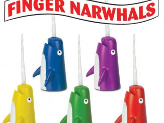 Narwhal - Finger Puppet