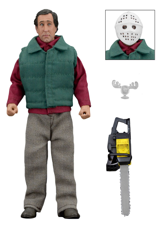 National Lampoon's Christmas Vacation 8″ Clothed Action Figure Chainsaw Clark
