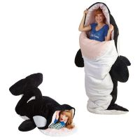 Nautical Seanic Adventures Orca Sleeping Bag