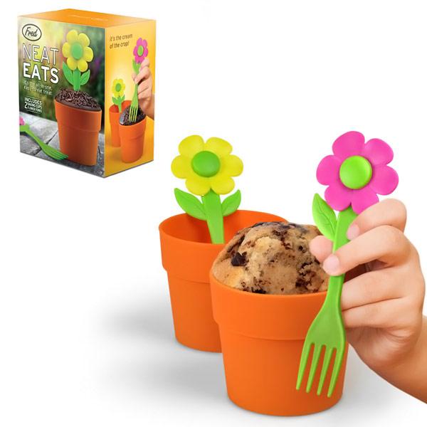Neat Eats Flower Pot Cupcake Molds