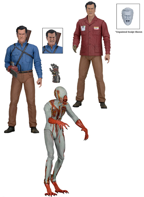 Neca Ash vs. Evil Dead Series 1 Action Figure Set