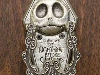 Neca Nightmare Before Christmas Pewter Jack Bite Door Knocker