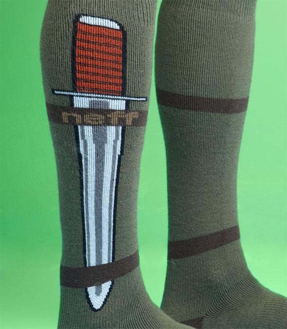 Neff Concealed Knife Sock