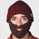 Neff Lumberjack Knit Hat with Removable Beard