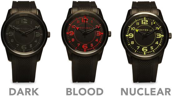 Nero Ninja Watch