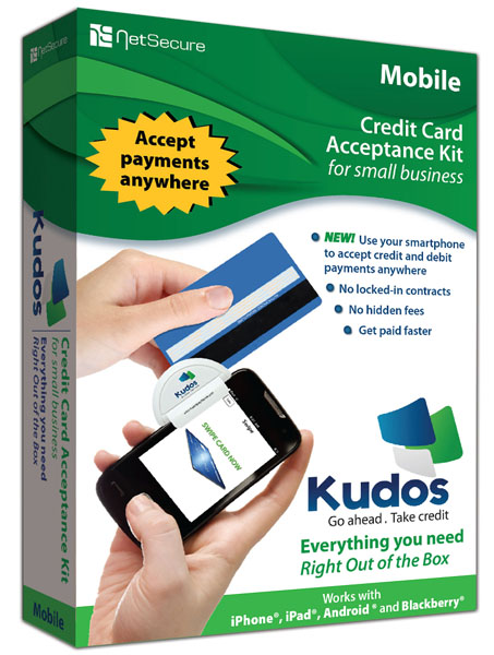 NetSecure Kudos Mobile Credit Card Reader