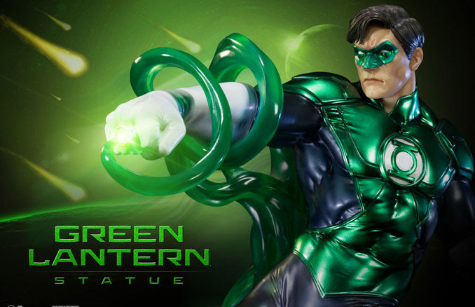 new 52 green lantern statue