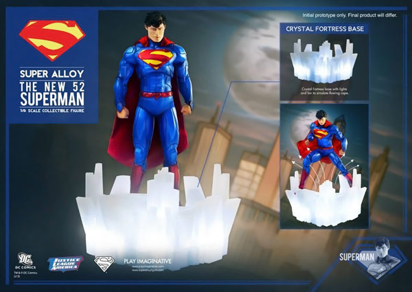 New 52 Superman Alloy Action Figure