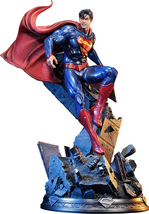 new-52-superman-polystone-statue