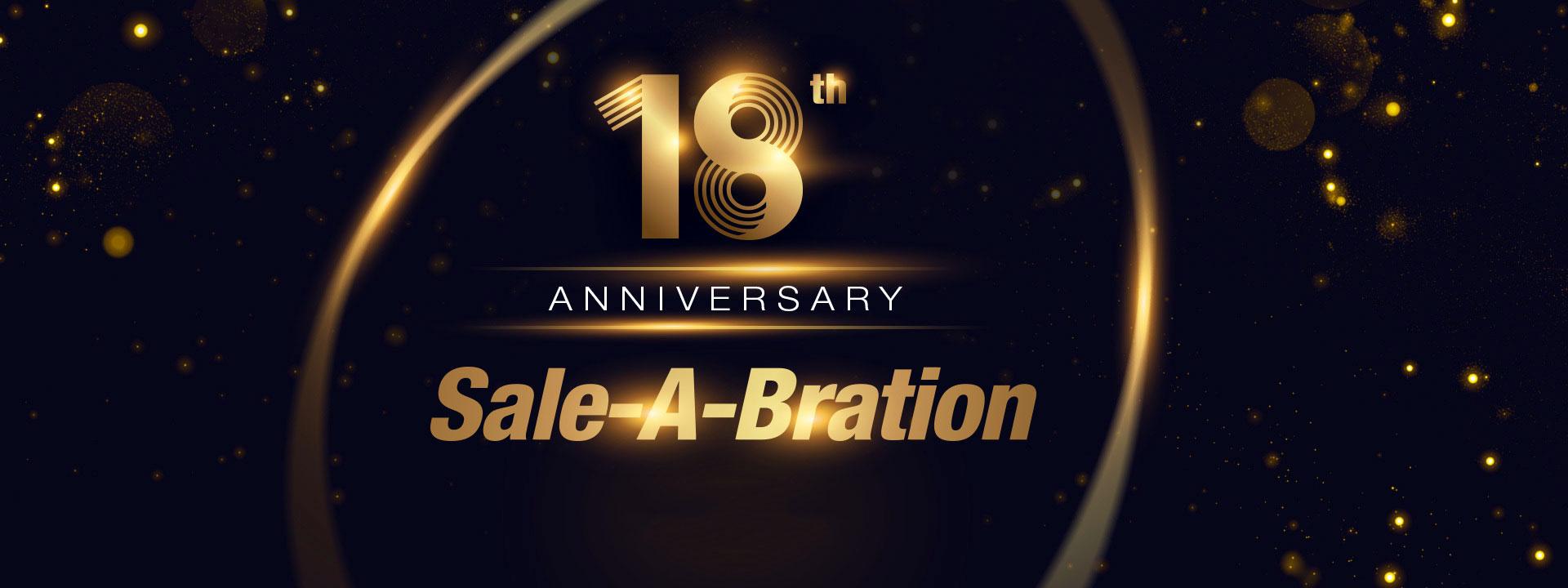 Newegg 18th Anniversary Sale