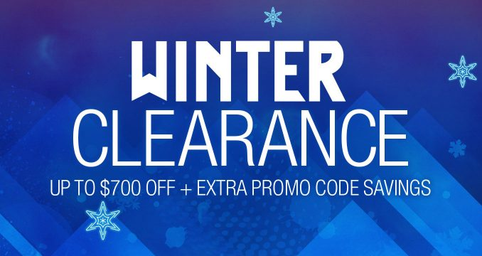 Newegg Winter Clearance