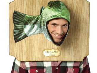 Nice Bass Trophy Head Costume