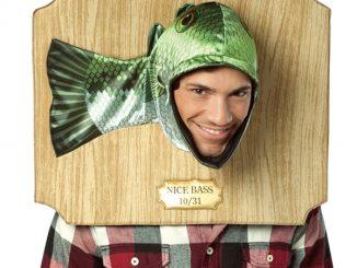Nice Bass Trophy Head Costume