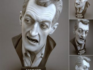 Night of the Living Dead Cemetery Zombie Bust