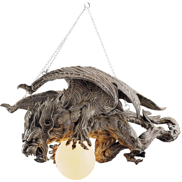 Nightfall Gargoyle Chandelier