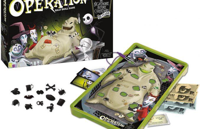 The Nightmare Before Christmas 25 Years Operation Game