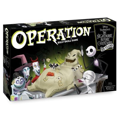 Nightmare Before Christmas 25 Years Operation Game Box
