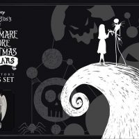 Nightmare Before Christmas 25th Anniversary Chess Set