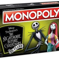 Nightmare Before Christmas 25th Anniversary Monopoly Box