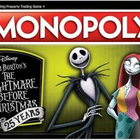 Nightmare Before Christmas 25th Anniversary Monopoly Game