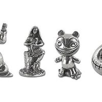 Nightmare Before Christmas 25th Anniversary Monopoly Game Tokens