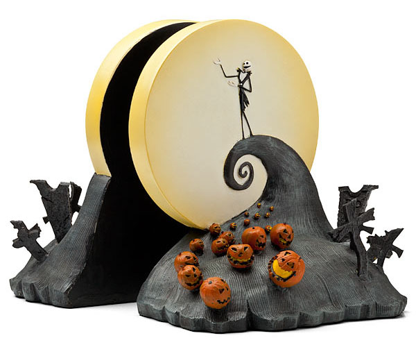 Nightmare Before Christmas Book Ends