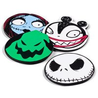 Nightmare Before Christmas Character Coaster Set