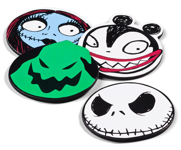 Nightmare Before Christmas Character Coasters