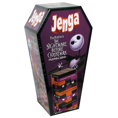 Nightmare Before Christmas Collector's Edition Jenga | GeekAlerts