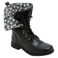 Nightmare Before Christmas Combat Boot Lining
