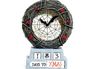Nightmare Before Christmas Countdown Table Clock