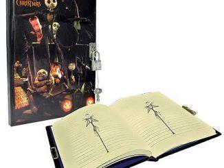 Nightmare Before Christmas Diary with Lock