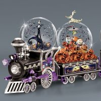Nightmare Before Christmas Glitter Globe Nightmare Express Train