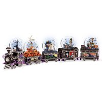 Nightmare Before Christmas Glitter Globe Train