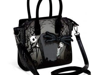 Nightmare Before Christmas Jack & Sally Graveyard Satchel Bag