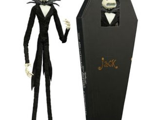 Nightmare Before Christmas Jack Skellington Coffin Action Figure