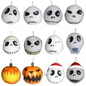 Nightmare Before Christmas Jack Skellington Head Candle Set