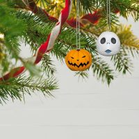 Nightmare Before Christmas Jack Skellington Porcelain Ornaments