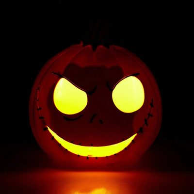 Nightmare Before Christmas Jack Skellington Pumpkin Head Lamp