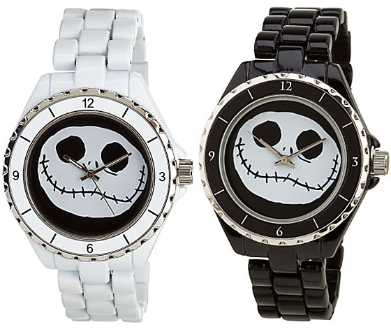 Nightmare Before Christmas Jack Skellington Pumpkin King Watches