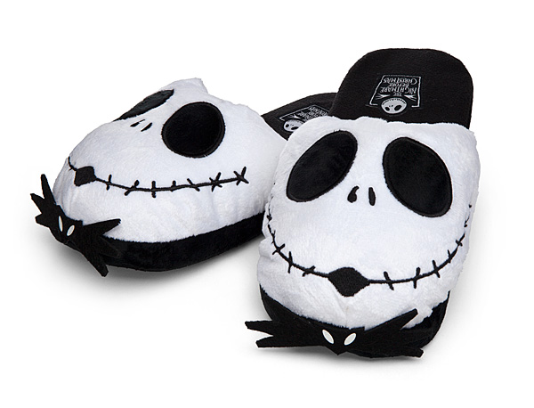 Nightmare Before Christmas Jack Skellington Slippers