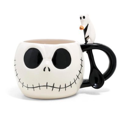 Nightmare Before Christmas Jack Skellington Soup Mug
