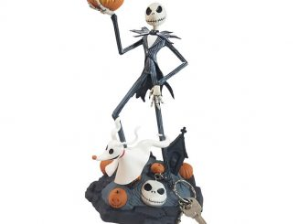 Nightmare Before Christmas Jack and Zero Keyper Figure
