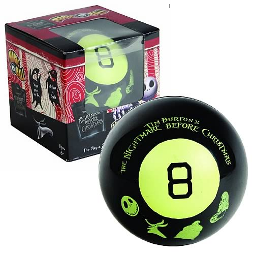 Nightmare Before Christmas Magic 8 Ball