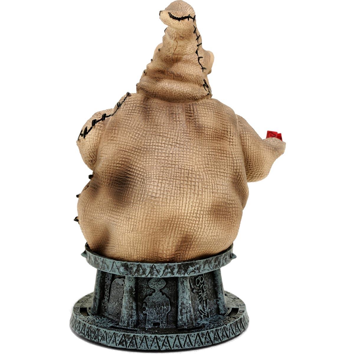 nightmare before christmas oogie boogie resin bust back - The Nightmare Before Christmas Oogie Boogie