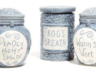 Nightmare Before Christmas Potion Jar Trinket Boxes