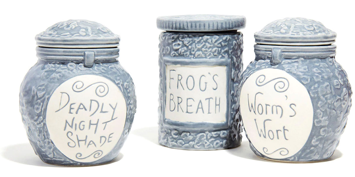 Nightmare Before Christmas Potion Jar Trinket Boxes