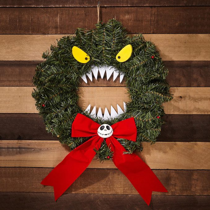 The Nightmare Before Christmas Scary Wreath