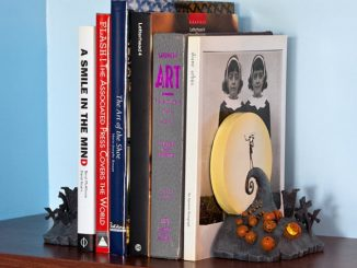Nightmare Before Christmas Spiral Hill Book Ends