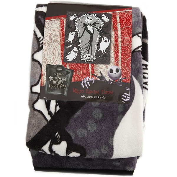 Nightmare Before Christmas Blanket XMas Magnificent Christmas Fleece Throws Blankets